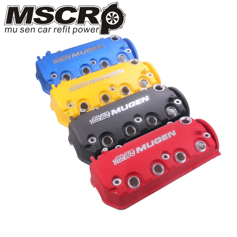 MUGEN Type R Rocker Valve chamber cover For Honda Civic D16Y8 D16Y7 VTEC SOHC-in Cylinder Body & Parts from Automobiles & Motorcycles