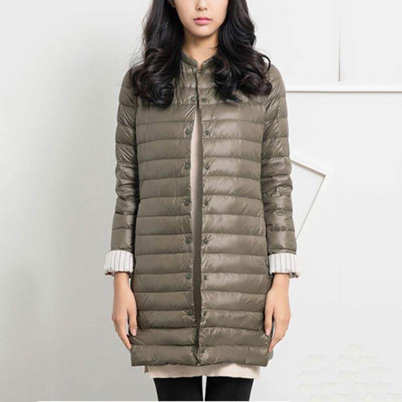 Теплые куртки осень-зима мода тонкий Для женщин парки Пальто Повседневное  однотонные женские средней длины теплая верхняя одежда парка feminina  2c72d71c5a069