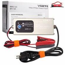 Новое поступление Vgate 12 В 5A MXS 5,0 Smart свинцово-кислотная батарея зарядное устройство полностью автоматическая с Температура компенсации автомобиля MXS 5,0