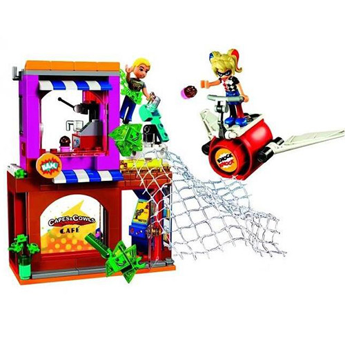 10617 Bela DC Super Hero Girl Harley Quinn to the rescue Building Block Bricks Children Gifts Super Hero 41231 the girl with all the gifts