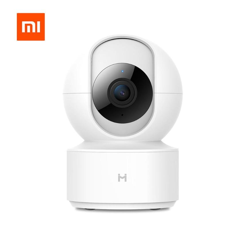 Xiao mi mi jia Chuang mi caméra IP intelligente 1080 P HD Webcam caméscope 360 Angle WIFI Vision nocturne sans fil pour mi maison