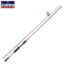 Red Daiwa Fishing Rod 2.4M Power M Baitcasting Rod Spinning Lure Rod Free Shipping By EMS Goture Selling