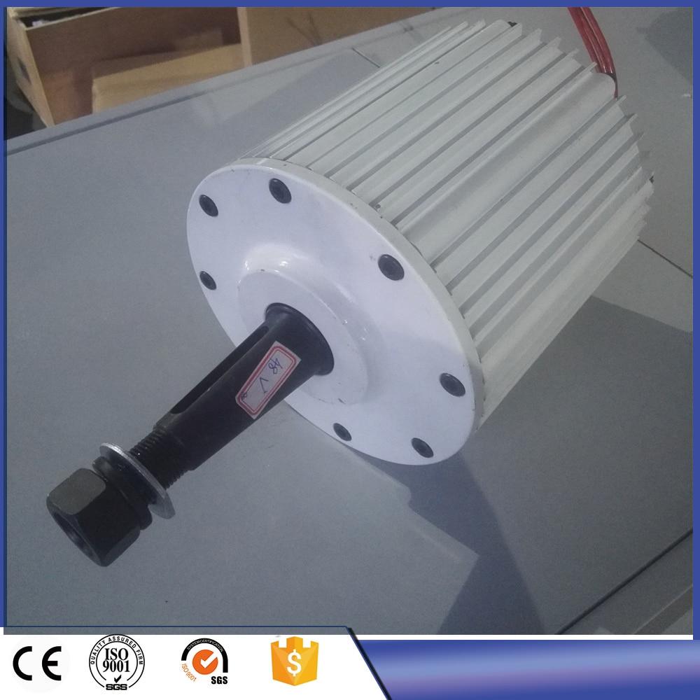 2KW A Basso NUMERO di GIRI AC 220 V 380 V Trifase a Magnete Permanente Generatore per uso domestico