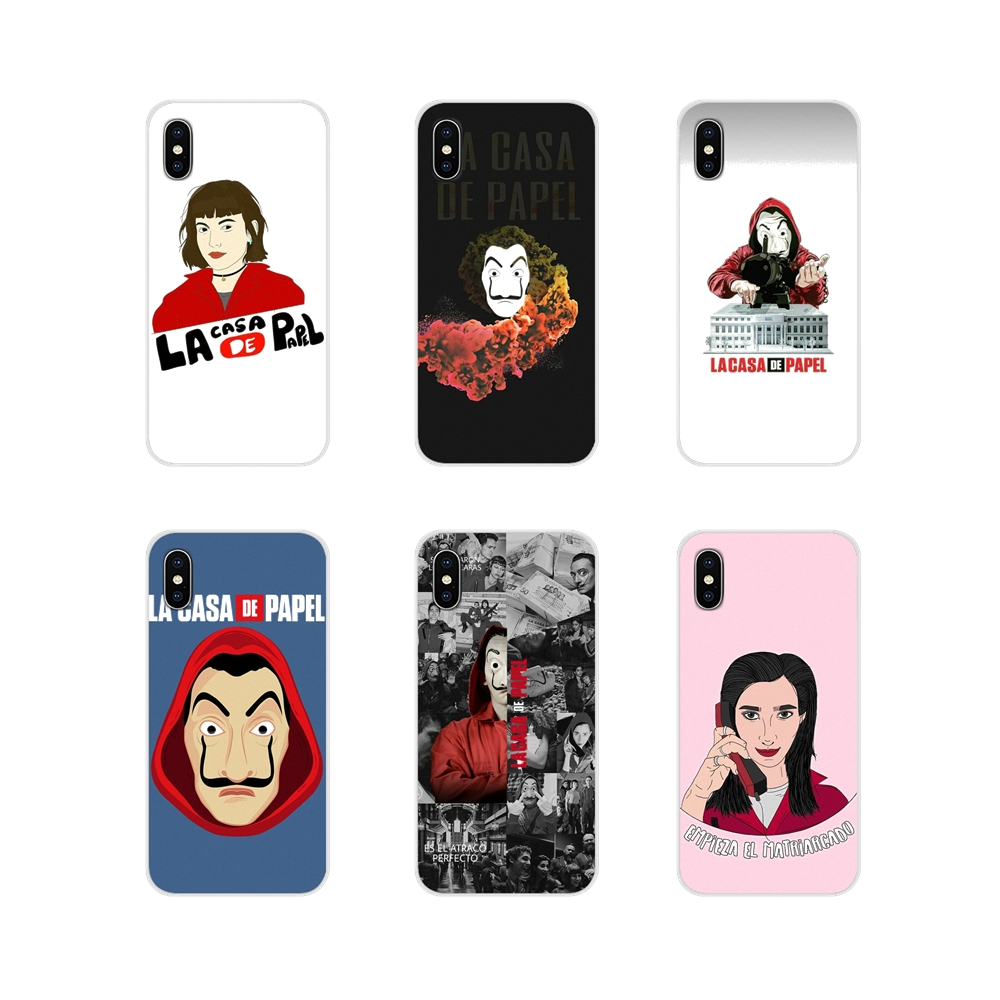 Spain TV La Casa de papel For Samsung Galaxy J1 J2 J3 J4 J5 J6 J7 J8 Plus 2018 Prime 2015 2016 2017 Accessories Phone Case Cover image