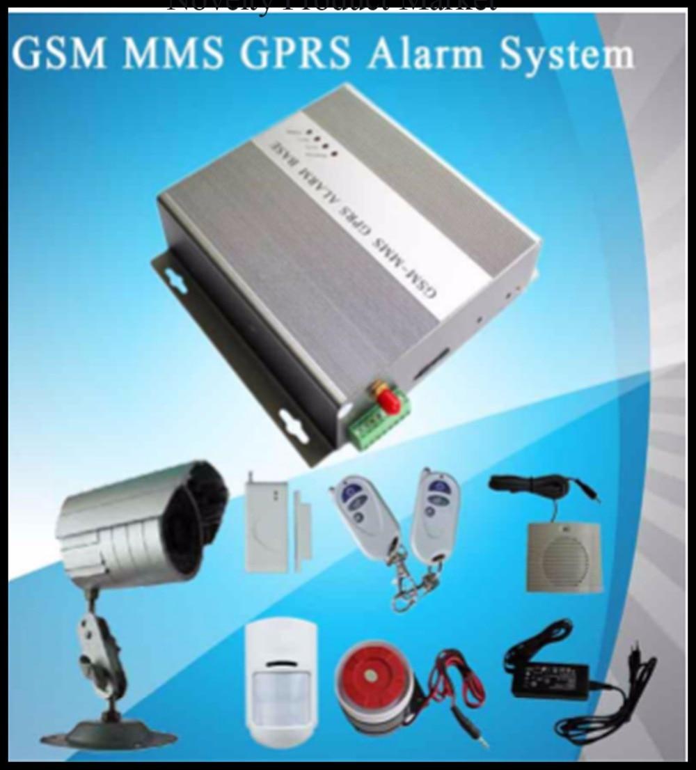 Système d'alarme GSM multifonctionnel de caméra hôte d'alarme GSM MMS