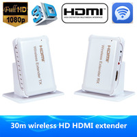 60GHZ HDMI Wireless Transmission Extender 30m 98ft Support HDMI 1 4 HDCP 1 4 3D Full
