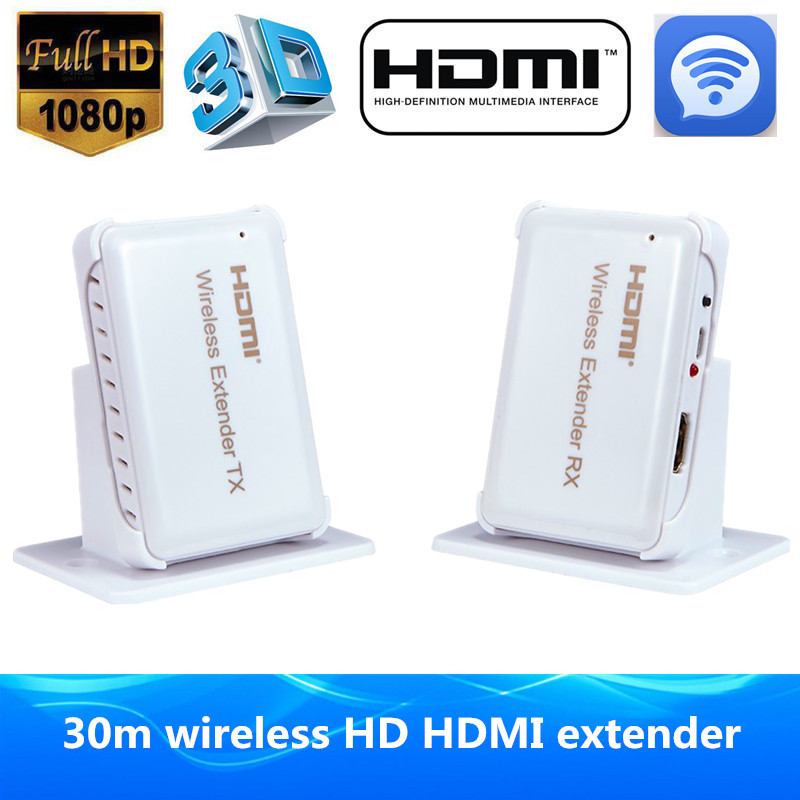 все цены на HDMI Wireless Transmitter Receiver HDMI Extender 30m/98ft Support HDMI 1.4 3D Full HD 1080P Compatible With All HDMI HD Devices онлайн