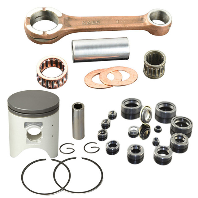 Motorcycle Engine Parts 66.4mm Connecting Rod & Piston Ring & Oil Seal Kit for HONDA CRM250AR CRM250 CRM 250 AR KAEG 249
