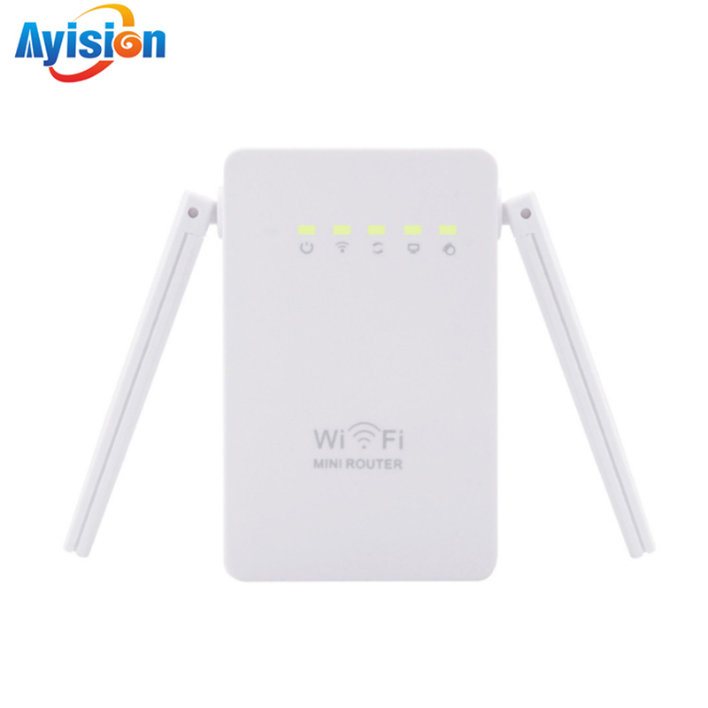 New AC300 WIFI Repeater/Router/Access Point Wireless 300Mbps Range Extender Wi-Fi Signal Amplifier 2 External Antennas