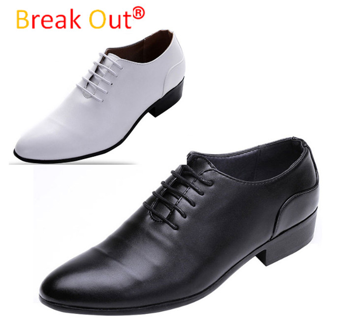 In Stock!New Fashion PU Leather Shoes Men,Lace-up Wedding Shoe,Men Dress Shoes,British Style Men Oxfords Shoe For Male Hot men s pu leather wedding flats new british men shoes fashion man pointed toe formal wedding shoes male dress shoes