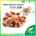Fornecimento de fábrica Vitamina B17, OEM Vitamina B17 amêndoa amarga extrato cápsulas de 500 mg * 300 pcs