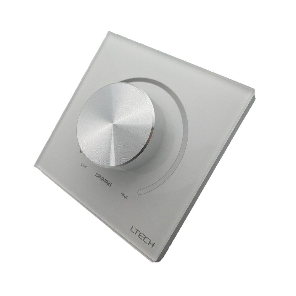 New LED Triac Dimmer 220V Dimming Controller Triac Edge Knob Dimmer High Voltage LED Light Lamp Dimmer E6-TD1