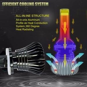 Image 4 - 2Pcs Strobe LED Fog Lights H8 H11 H1 H3 H7 HB4 9005 HB3 9006 880 881 H4 Car Headlight Fog Lamp Bulb Flash COB Warning Lights