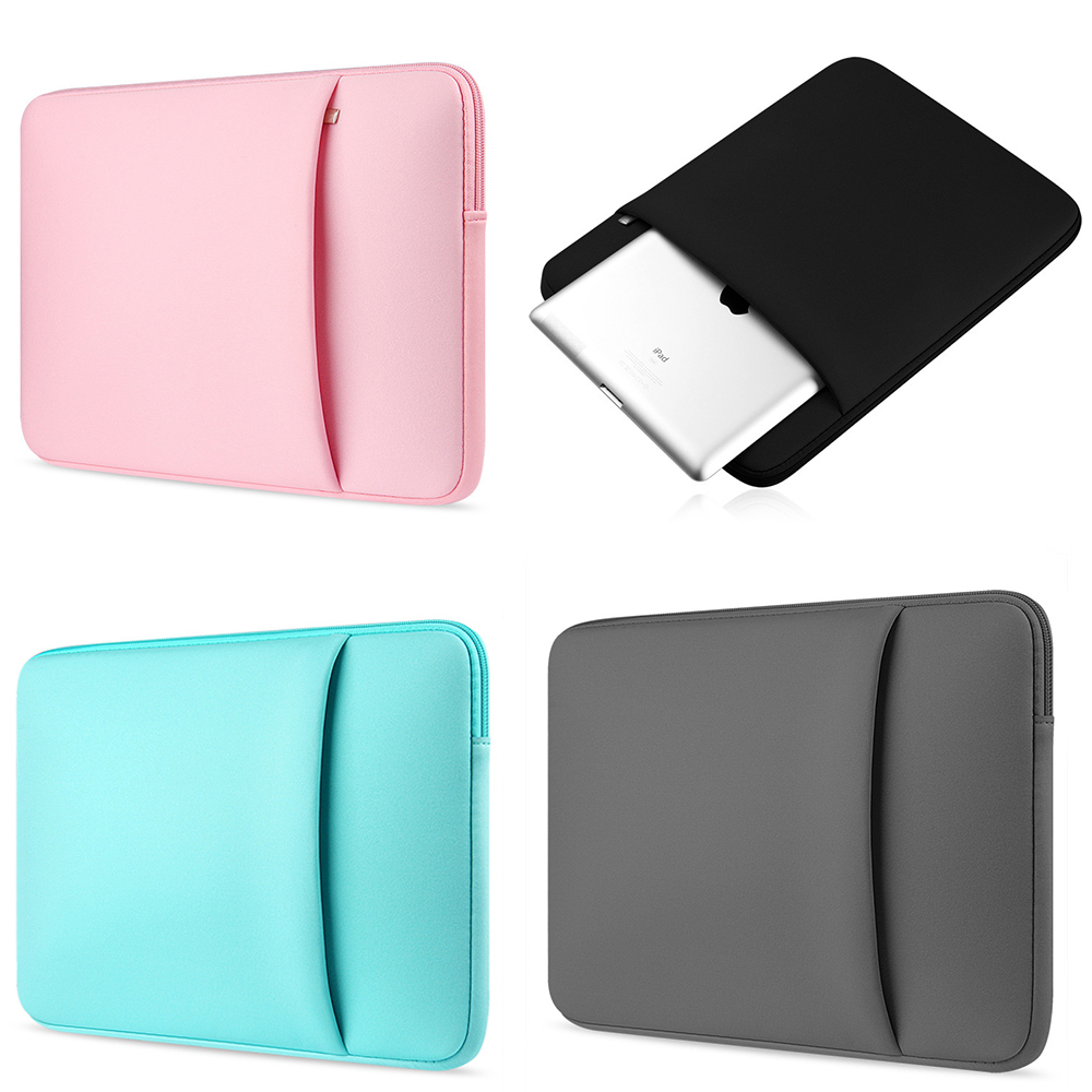 9308898ca2fb US $9.02 5% OFF|Fashion new Laptop Bag 11 12 13 14 15 15.6 inch Soft Lapotp  Sleeve Case For Apple Macbook Air Pro retina Laptop protective cover-in ...