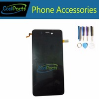 High Quality Black Color For Highscreen Alpha Ice LCD Display And Touch Screen Digitizer Assemble Replacement