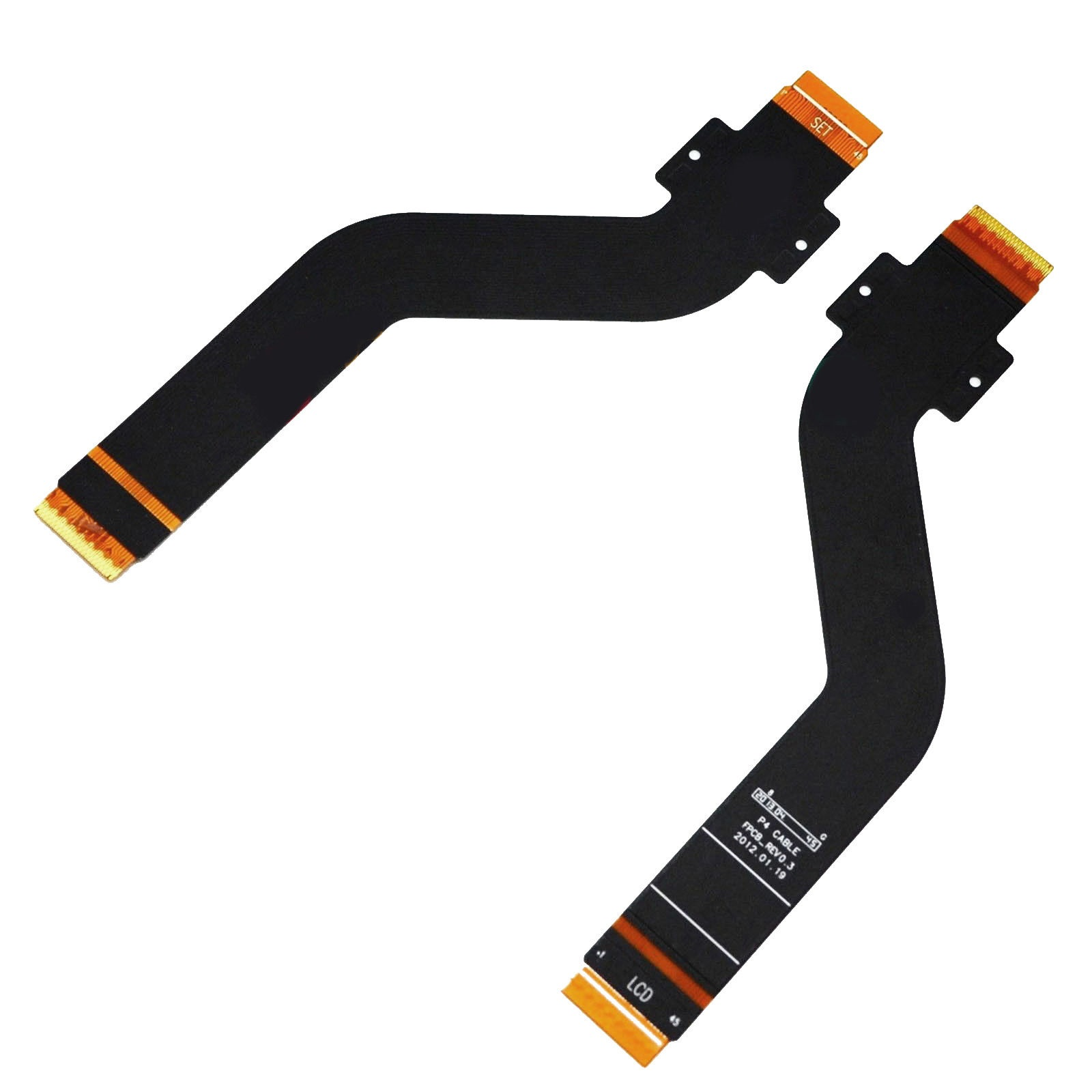 For Samsung Galaxy Tab 2 10.1 GT-P5100 P5110 LCD Screen Connection Connector Flex Cable Ribbon