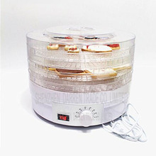 4PC Plug Food Dehydrator Fruit Vegetable Herb Meat Drying Machine Snacks Food Dryer Fruit dehydrator with 5 trays