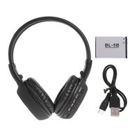BS862 Foldable Bluetooth Wireless Headphone LCD Screen TF Card Stereo MP3 Headset L060 New Hot