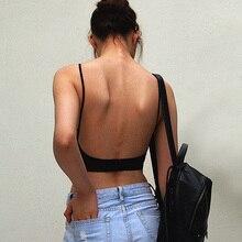 Backless V Bralette fine