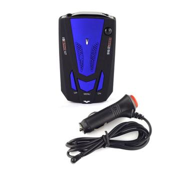 V7 Car Radar Speedometer English Version Hot Sale V7 LED Display 360 Degree Car Speedometer GPS Radar Detector