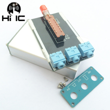 Conmutador de señal de Audio, 2 entradas, 1 salida, divisor, Caja selectora, vídeo de sonido, 3,5mm