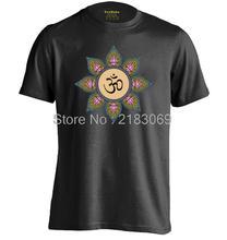 Buddhist Mandala Mens & Womens Summer style Short Sleeve O-Neck T Shirt