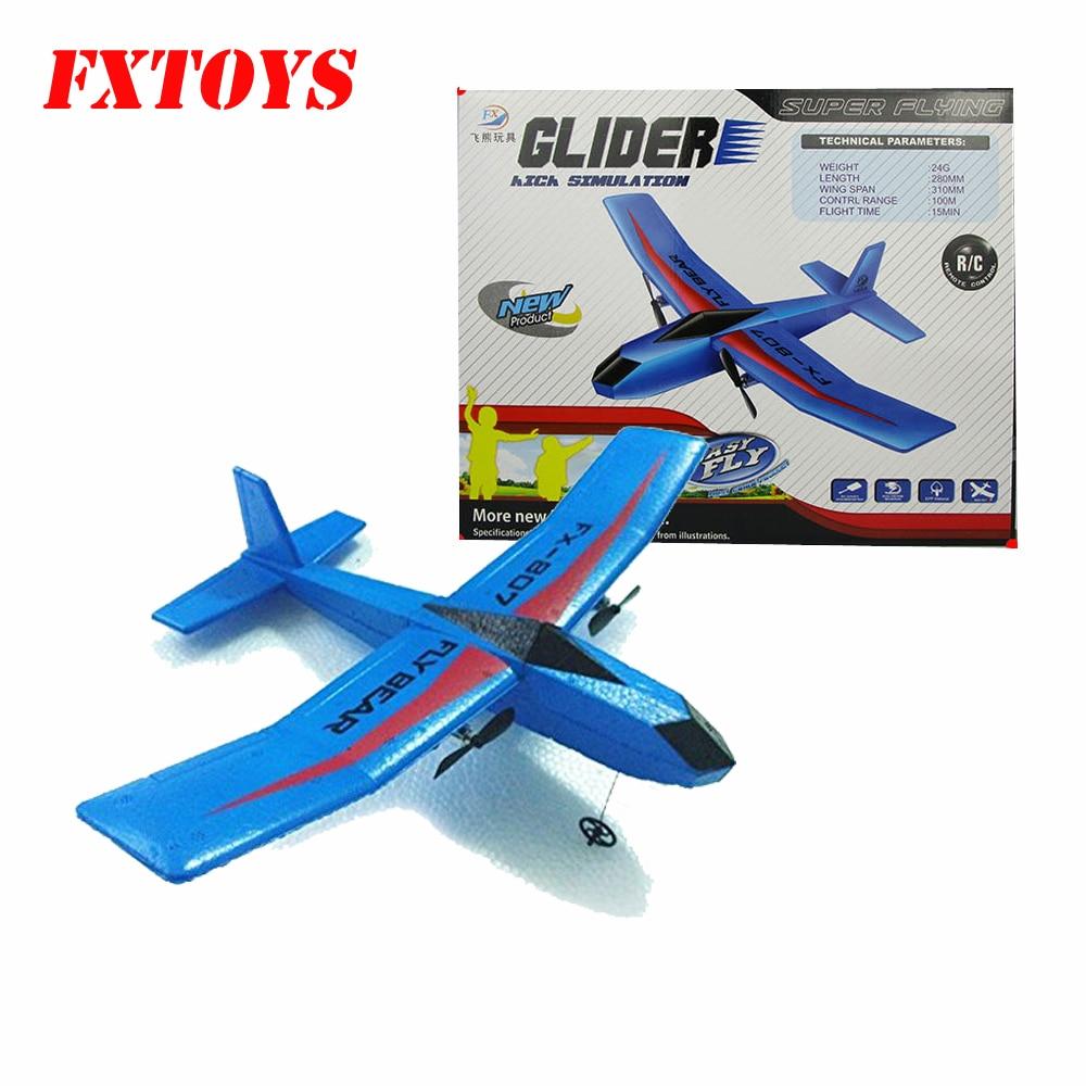 Volar oso FX-802 FX-805 FX-807 2,4G 2CH 310mm EPP RC...