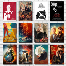 Hot Good Omens Neil Gaiman TV Series Show 2019  Poster Wall Print Pictures For Living Room Home Decor