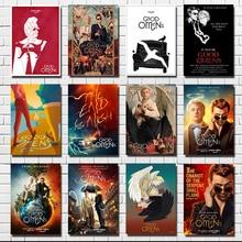 Hot Good Omens Neil Gaiman TV Series Show 2019  Poster Wall Print  Wall Pictures For Living Room Home Decor pratchett t good omens