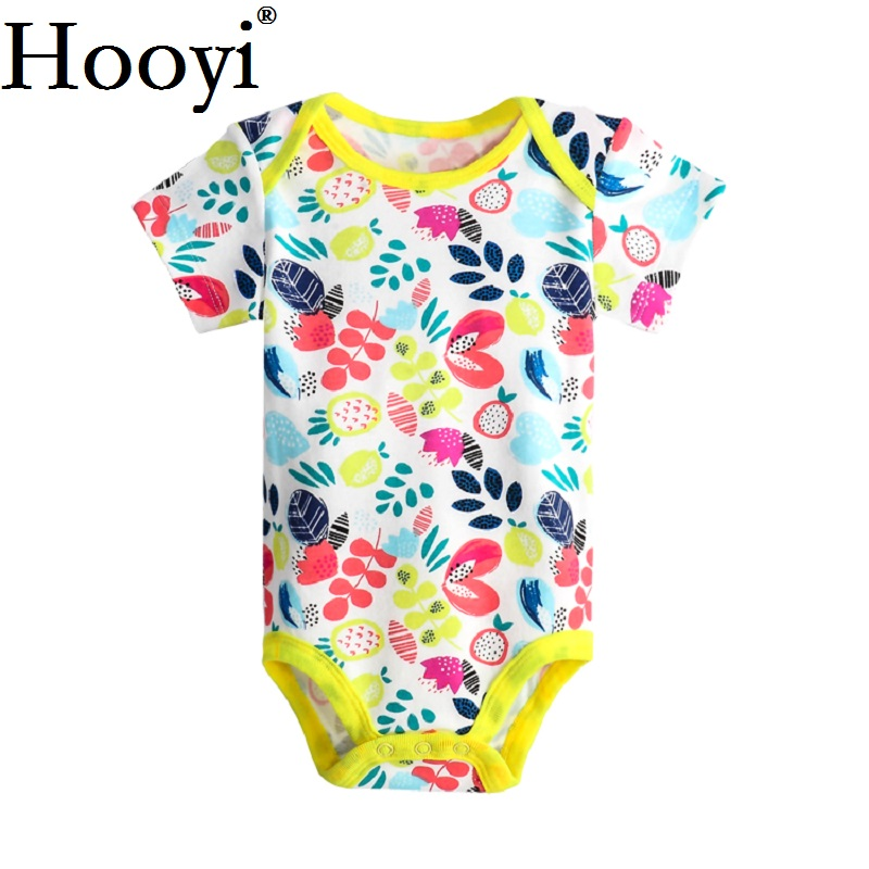 9694ce637 2018 Summer Baby Boys Bodysuit Newborn Clothes Girls Jumpsuits Short ...