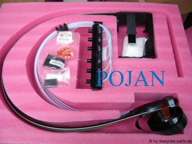 44inch Ink Tubes System CR649 67006 CK839 67003  for DesignJet T620 T770 T790 T795 T1120 T1300 T2300 ps printhead tubes system