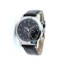 Ik multifuncional para fully-relógio mecânico automático mens watch mens relógio pulseira de relógio turbilhão masculino assistir