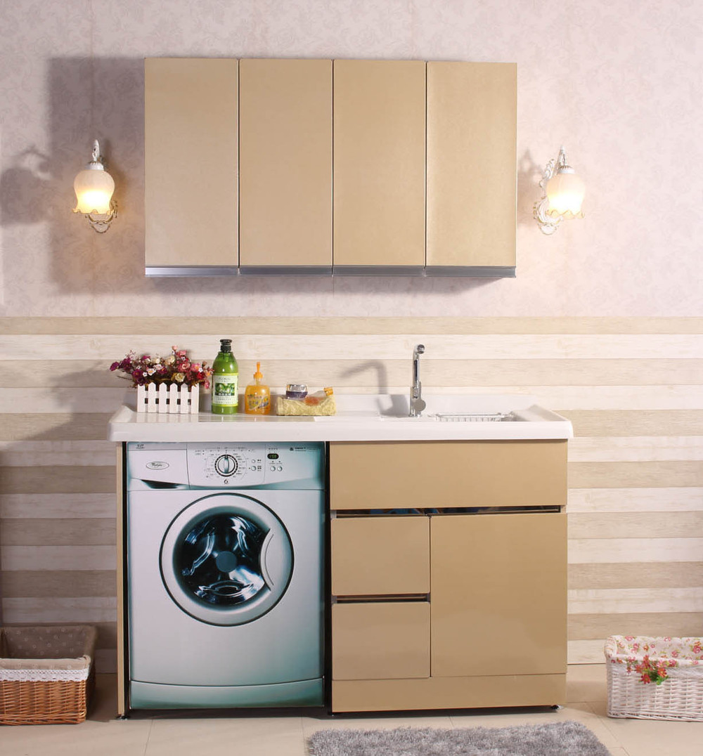 washing machine enclosure