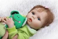 43cm high quality Silicone baby dolls/baby for Child's Christmas present