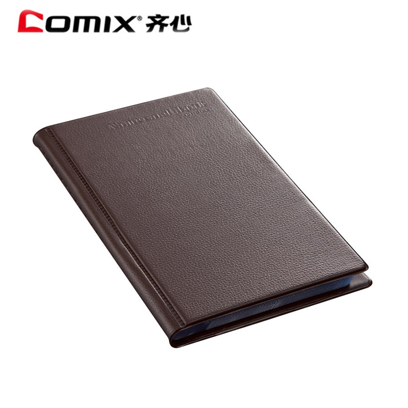 Comix Hardcover Business Card Book 180 Cards Name Card Book Card Case Holder Book Brown Color 2008 donruss sports legends 114 hope solo women s soccer cards rookie card