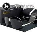 EYEMATE Горячая продажа Человек поляризационные Солнцезащитные Очки мужчины uvb профилактики ультрафиолетового бренд солнцезащитные очки