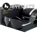EYEMATE Hot sale Man polarization Sunglasses men uvb ultraviolet prevention brand sun glasses