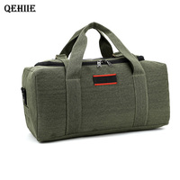 Large Capacity Canvas Kraft Hand Messenger Messenger Bag Male Bag Travel Shoulder Bag Luggage Thicker Travel