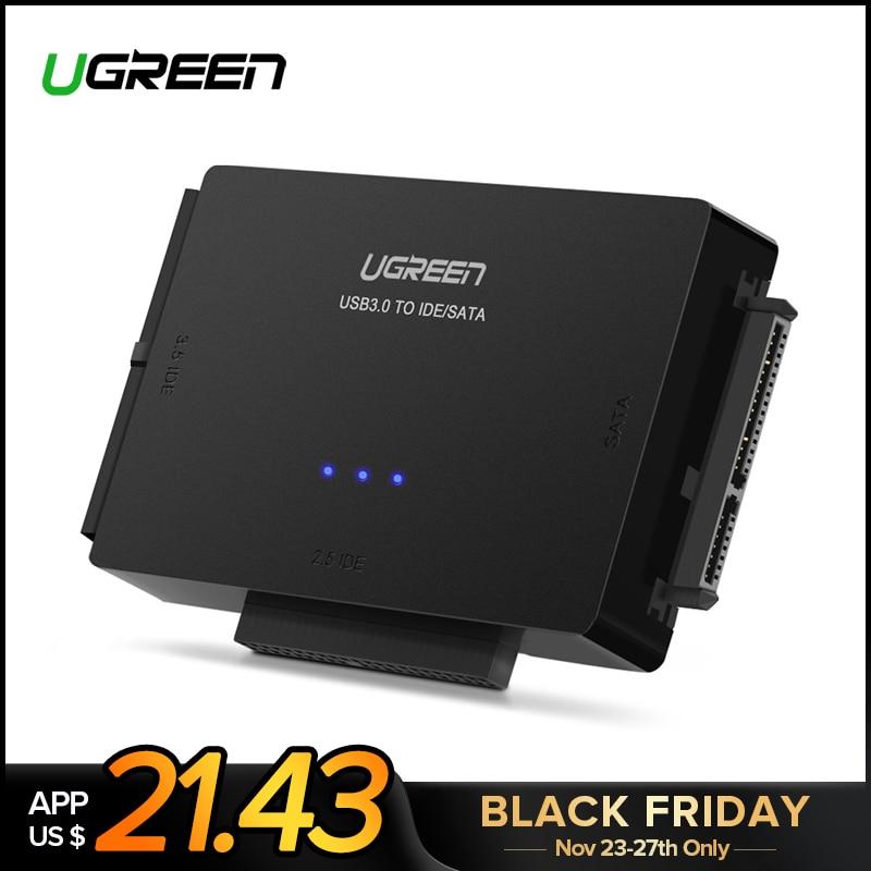 Ugreen SATA à USB IDE Adaptateur USB 3.0 2.0 Sata 3 Câble pour 2.5 3.5 Disque Dur HDD SSD USB Convertisseur IDE SATA Adaptateur