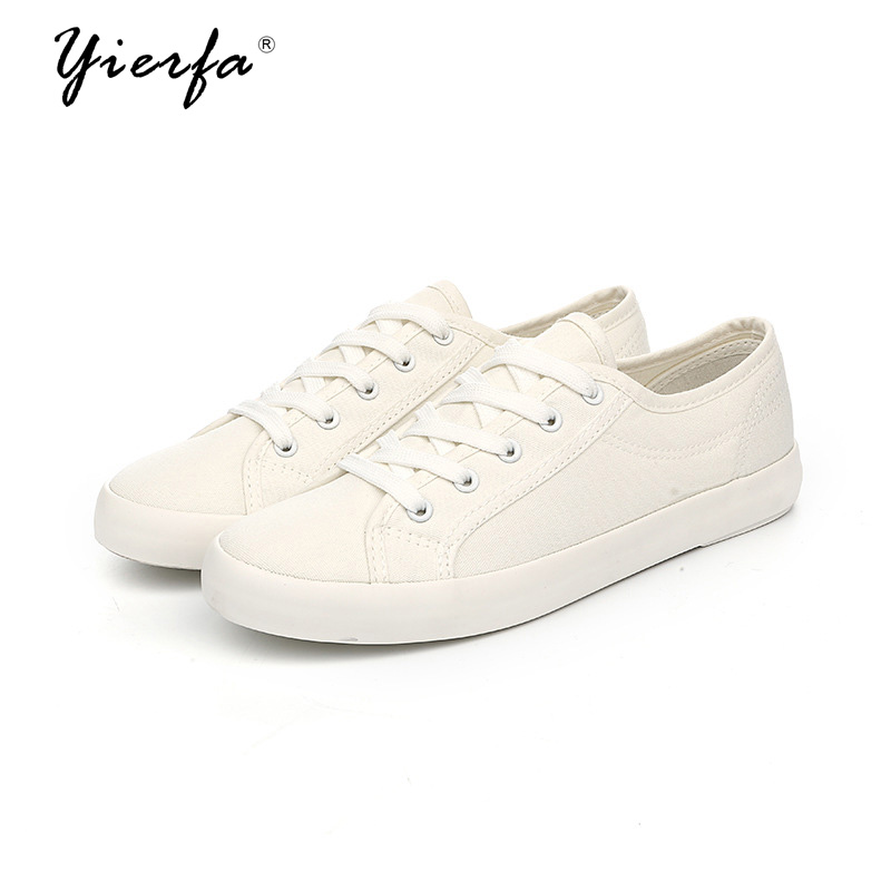 Women white shoes canvas shoes female spring and summer Korean version of the slim art show casual women's shoes the new spring and summer ms south korea ensure their boots comfortable show female water thin antiskid tall canister shoe