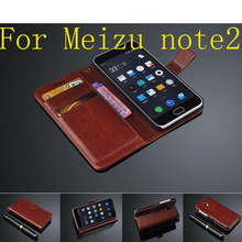 Meizu m2 note Case 5.5 inch Flip Wallet PU Leather Cover For Meizu M2 NOTE Meilan Note 2 With Stand Function Card Holder