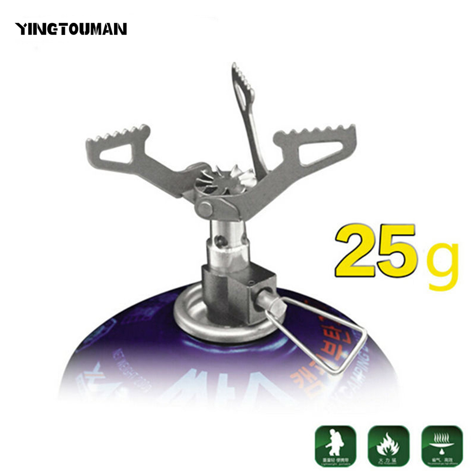 50PCS/Lot BRS-3000T Super Lightweight One-Piece Titanium Alloy Outdoor Burner Camping Gas Stove Factory Wholesale split gas stove burner made of titanium alloy for outdoor camping 98g power 2800w