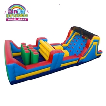Various carnival games outdoor inflatable obstacle course equipment for sale
