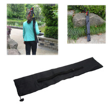 New Portable Black Climbing Walking Sticks Carrying Storage Bag Outdoor Pouch Free Shipping TD300389