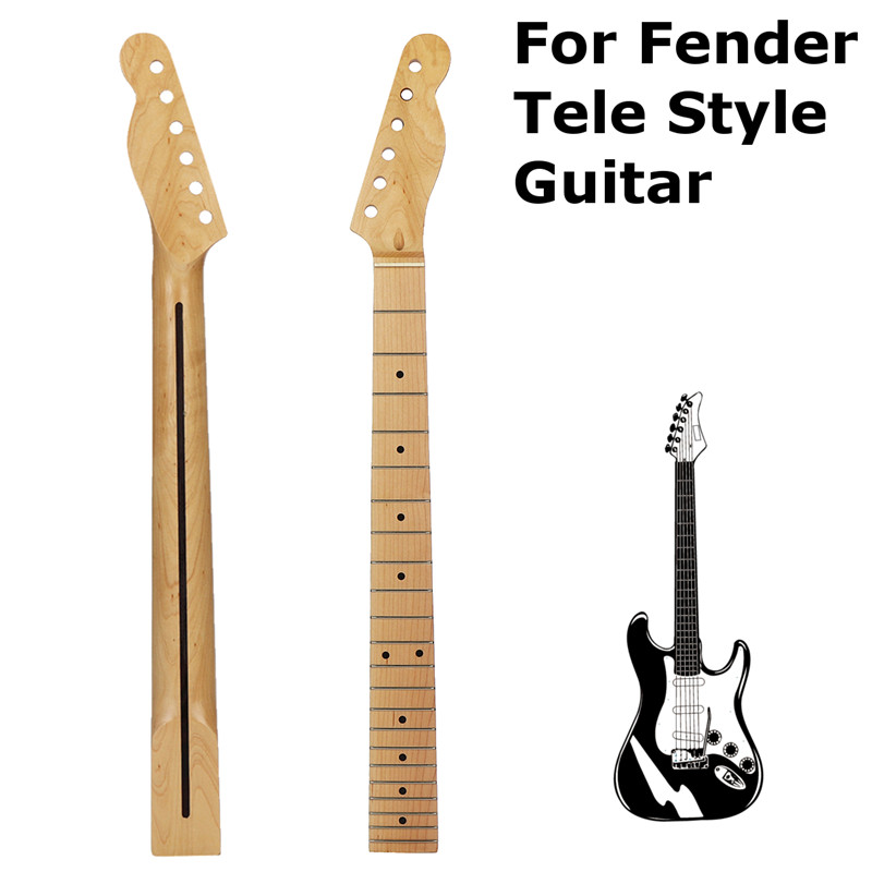 For Fender Tele Style Guitar Maple 22 Frets Guitar Neck 4-String Jazz Style Bass Adjustable Truss Rod Guitar Parts Accessories free shipping factory guitar show f jazz bass guitar f 4 strings jazz bass guitar bass jazz guitar