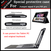 Business Stand Pu Leather Case For Jumper Ezpad 6 Pro 11 6inch Tablet PC Fashion Keyboard