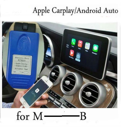 NTG5 S1 Apple CarPlay and Android Auto activation tool for MB