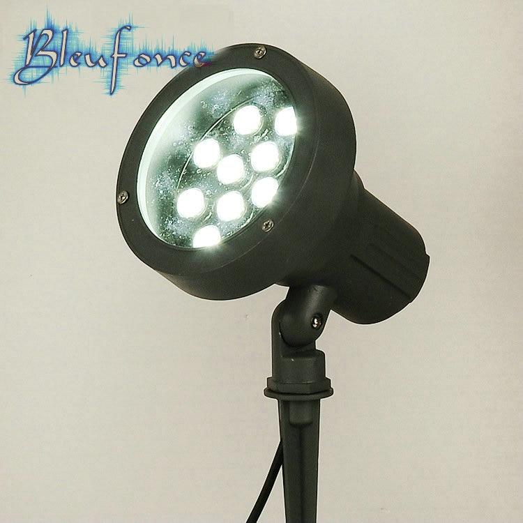 ФОТО Outdoor Waterproof Lights LED Garden Lawn Lamp Inserted Light LED Lawn Landscape Lights 15W LED Landscape Lights