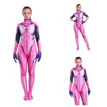 3D printing Women Evangelion Cosplay Costume Spiderman Zentai Superhero Bodysuit Suit Jumpsuits halloween costume