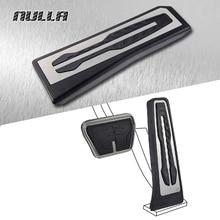 NULLA LHD без сверла с ножками из нержавеющей стали педали для отдыха газовое топливо Тормозная Подножка Автоматическая педаль для BMW E61 E70 X3 5 серии F10